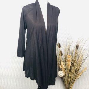 AGB Black Thin Elegant Cardigan